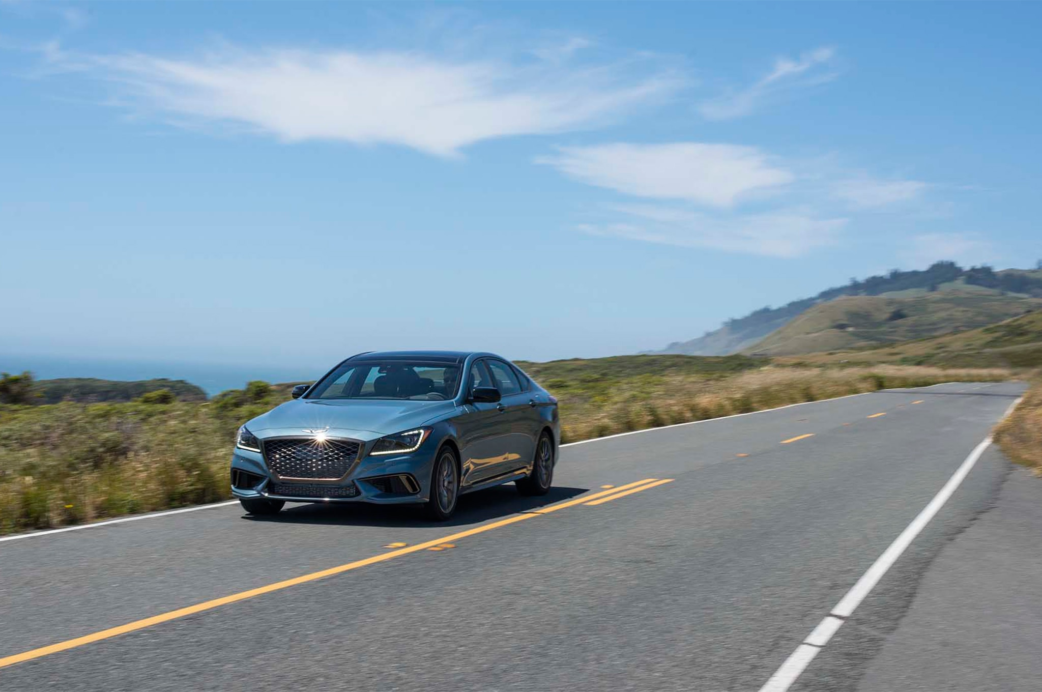 Simple 2018 Genesis G80 Sport First Drive Review  Automobile