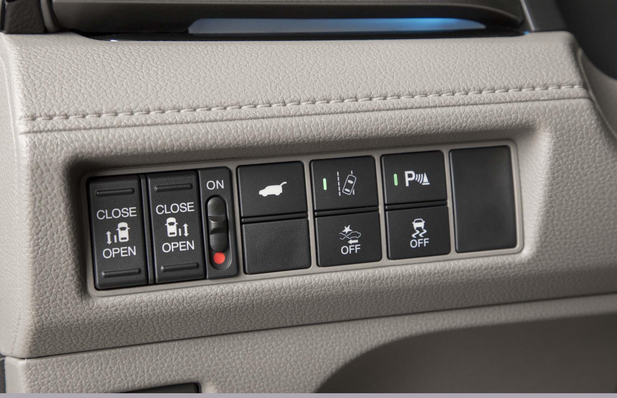 2018 Honda Odyssey Interior Controls