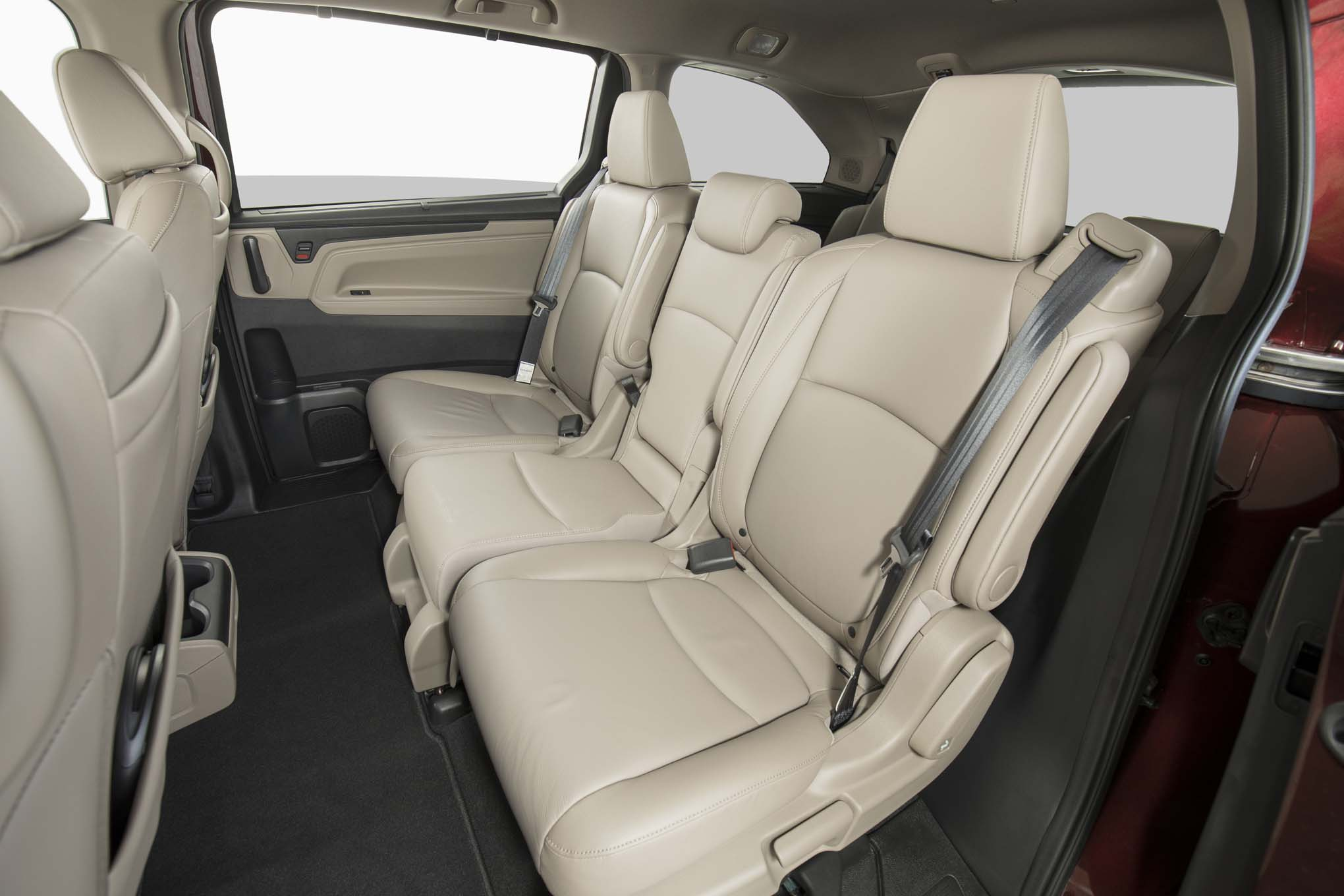 2018 Honda Odyssey Rear Interior Seats 07
