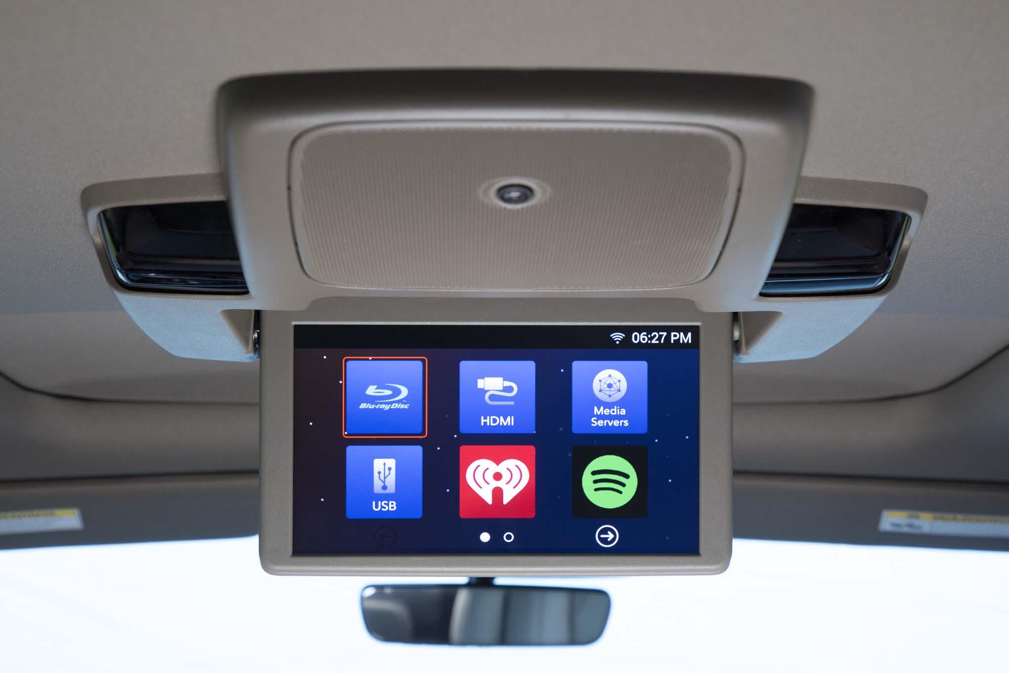 2018 Honda Odyssey Rear Overhead Entertainment