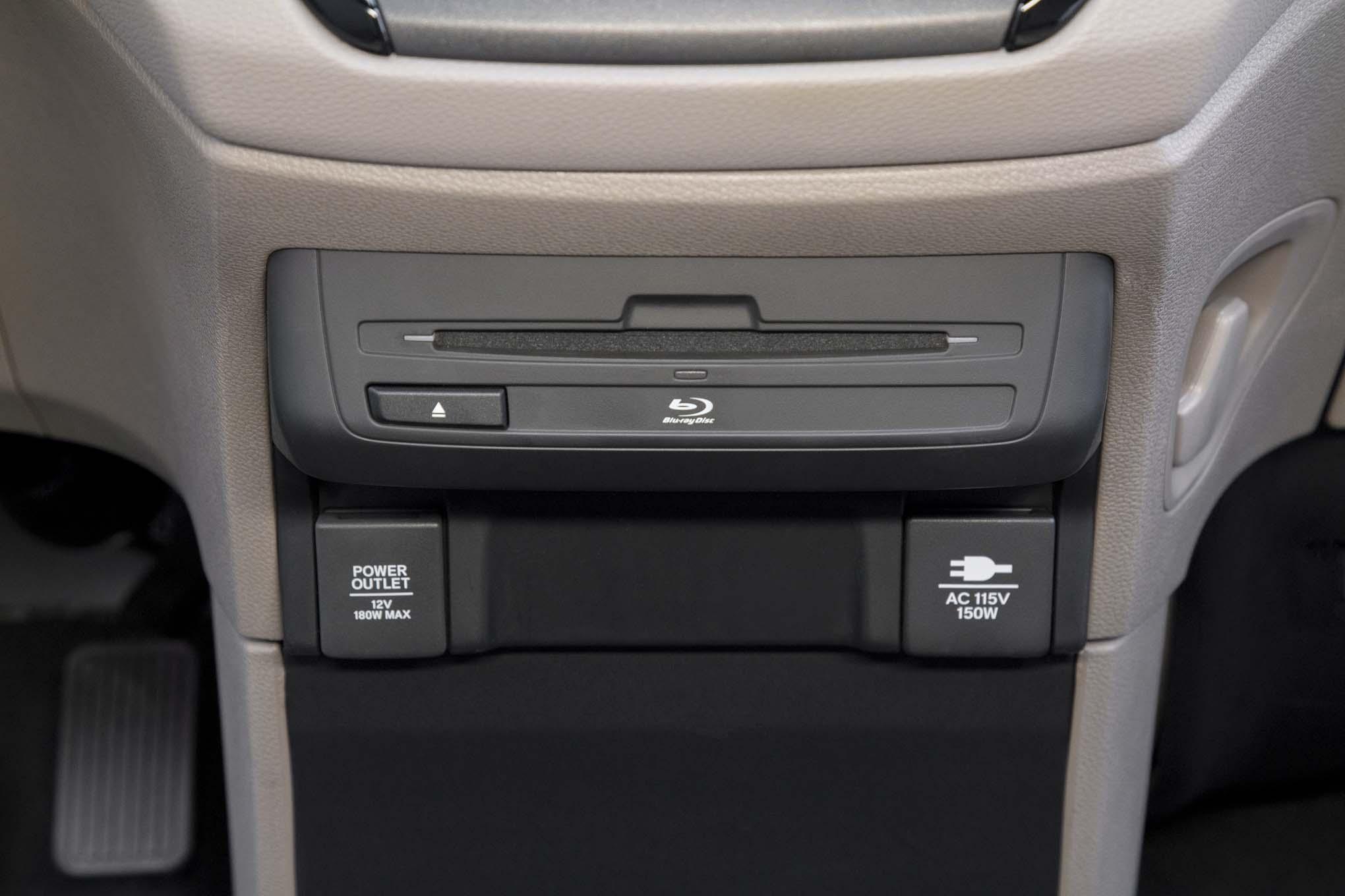 2018 Honda Odyssey Rear Power Outlets