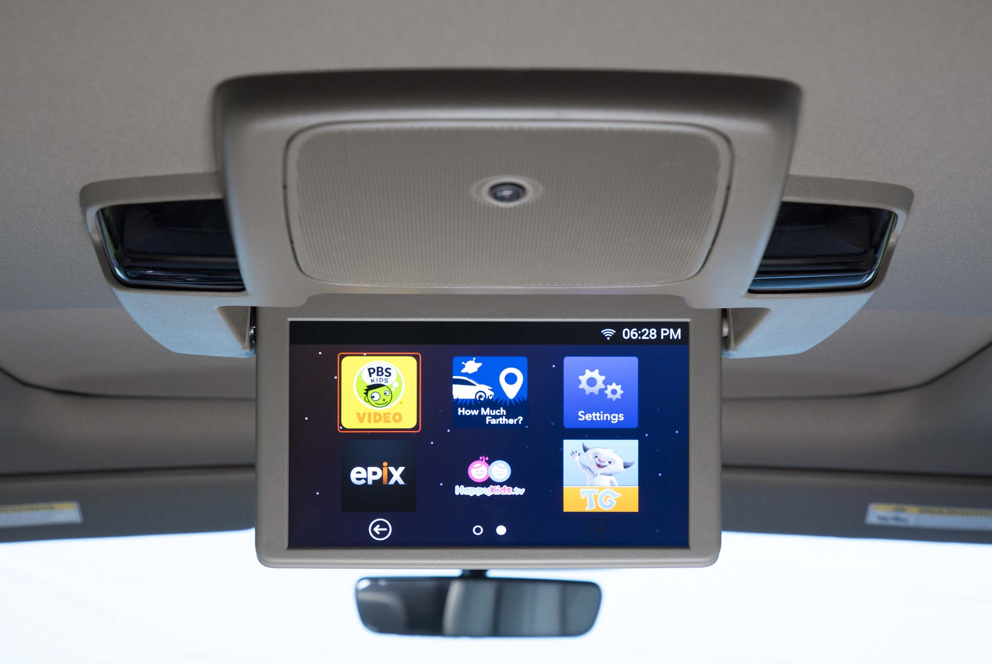 2018 Honda Odyssey Rearview Entertainment