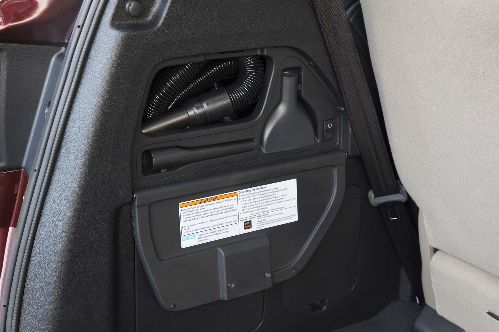 2018 Honda Odyssey Vacuum 02