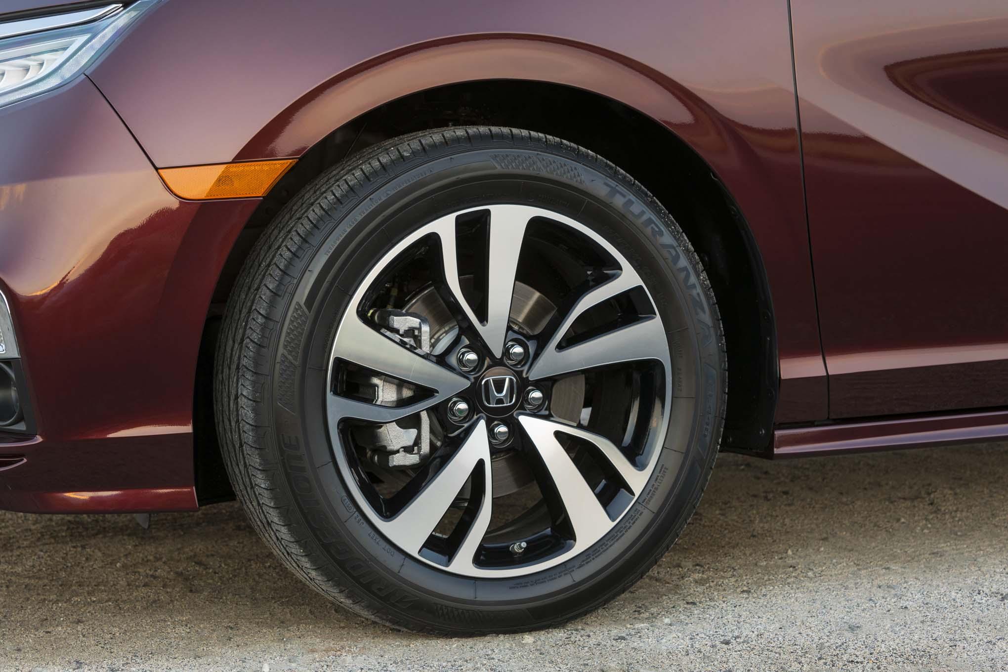 2018 Honda Odyssey Wheels