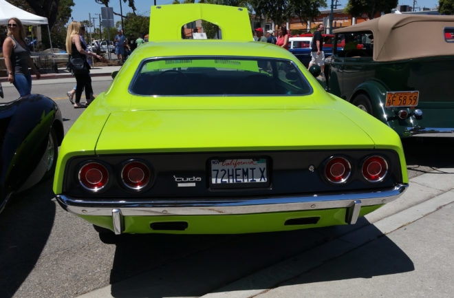 30th Seal Beach Classic Car Show 1972 Plymouth Barracuda