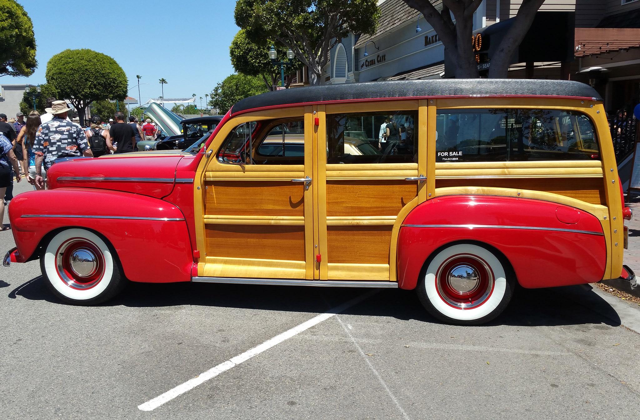 30th Seal Beach Classic Car Show Woody
