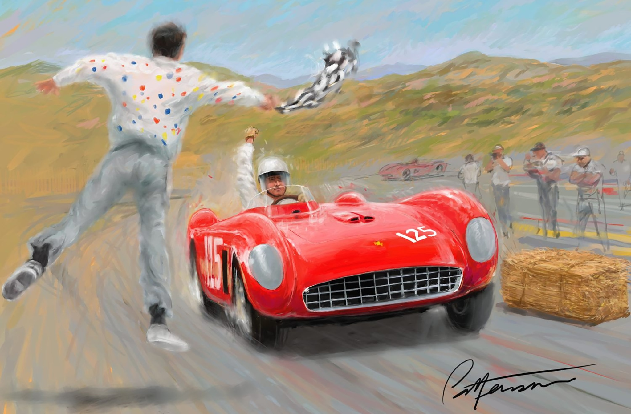 60th Anniversary of the Laguna Seca Raceway by Bill Patterson detail