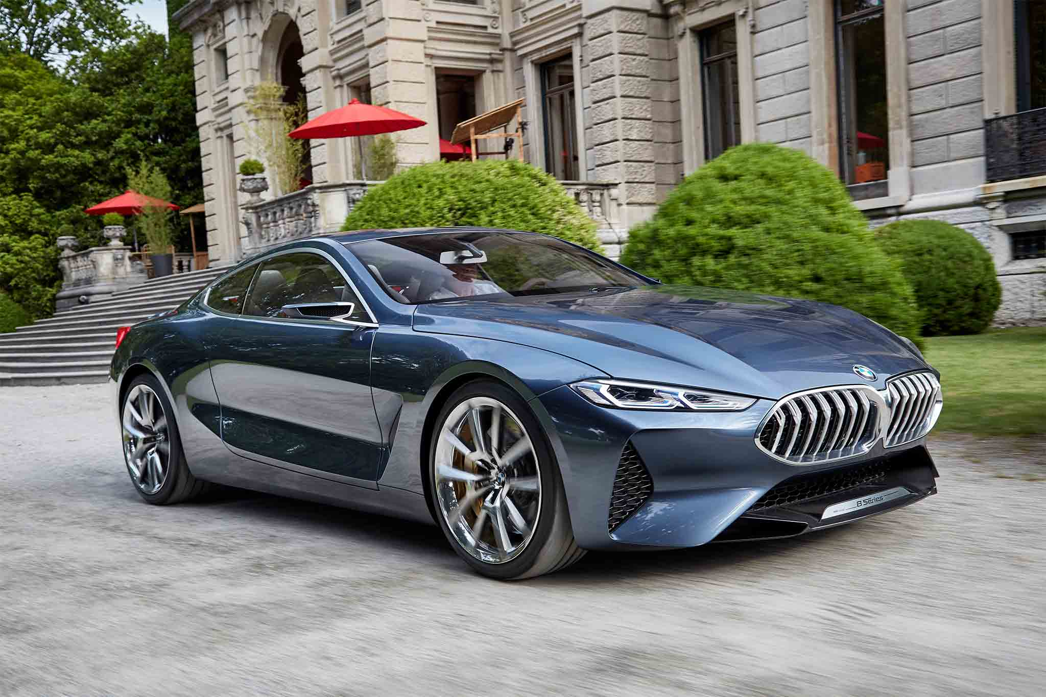 exclusive bmw 8 series concept quick drive automobile magazine. Black Bedroom Furniture Sets. Home Design Ideas