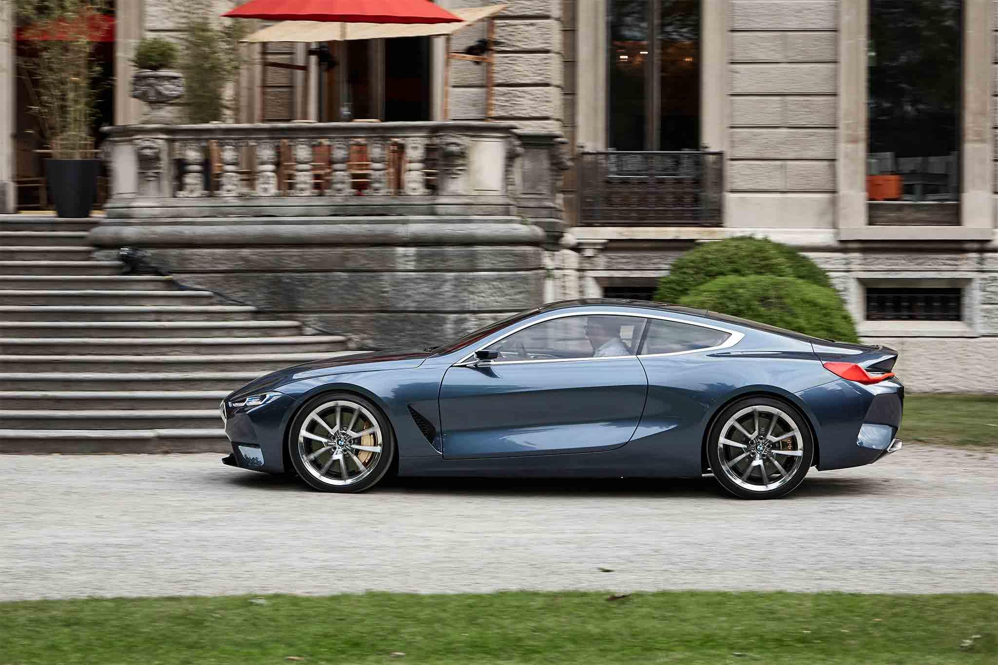 Exclusive BMW Series Concept Quick Drive Move Ten Manual Shift - 8 series bmw