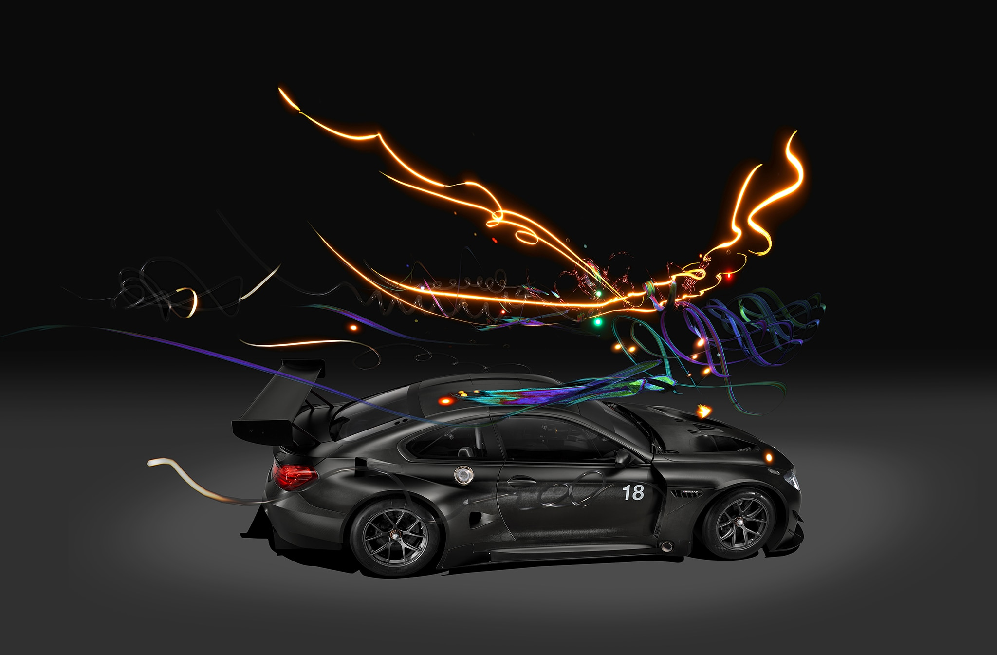 2017 Bmw M6 Gt3 Art Car Goes Digital Automobile Magazine