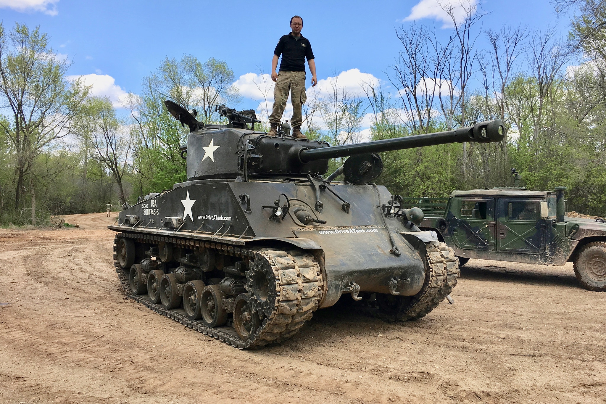 tank drive sherman era wwii earning stripes packages call start visit