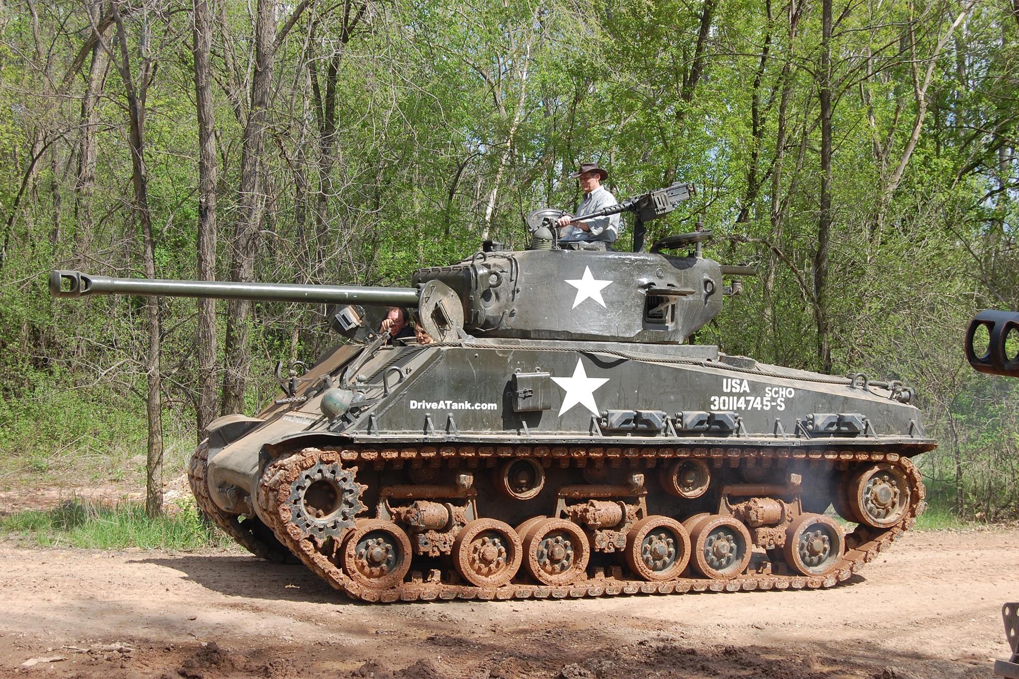 Drive A Tank 47