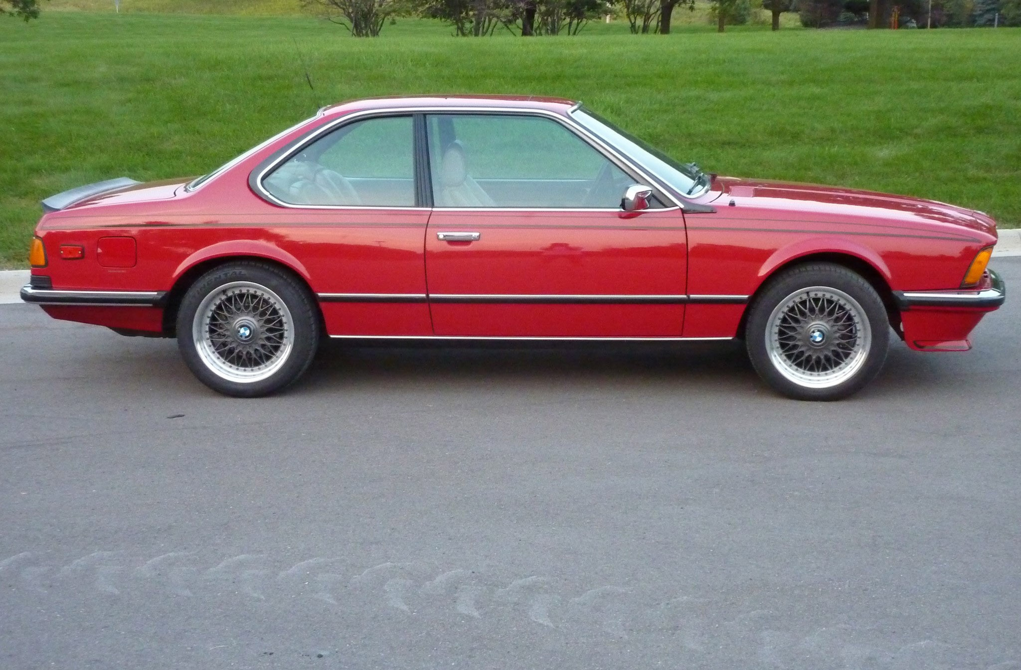 Euro 1985 BMW 635CSi Side just listed 1985 bmw 635csi automobile magazine  at gsmx.co