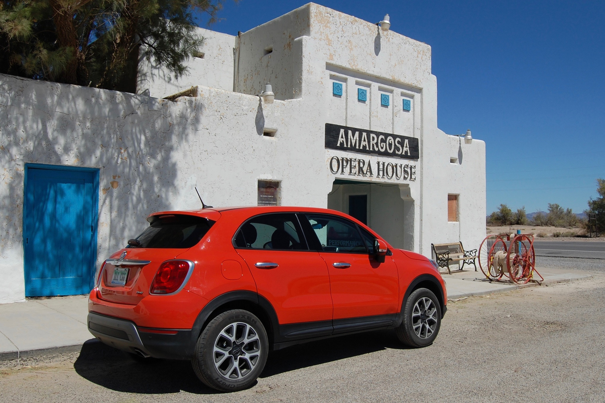 A Death Valley Drive for Our Four Seasons 2016 Fiat 500X Trekking