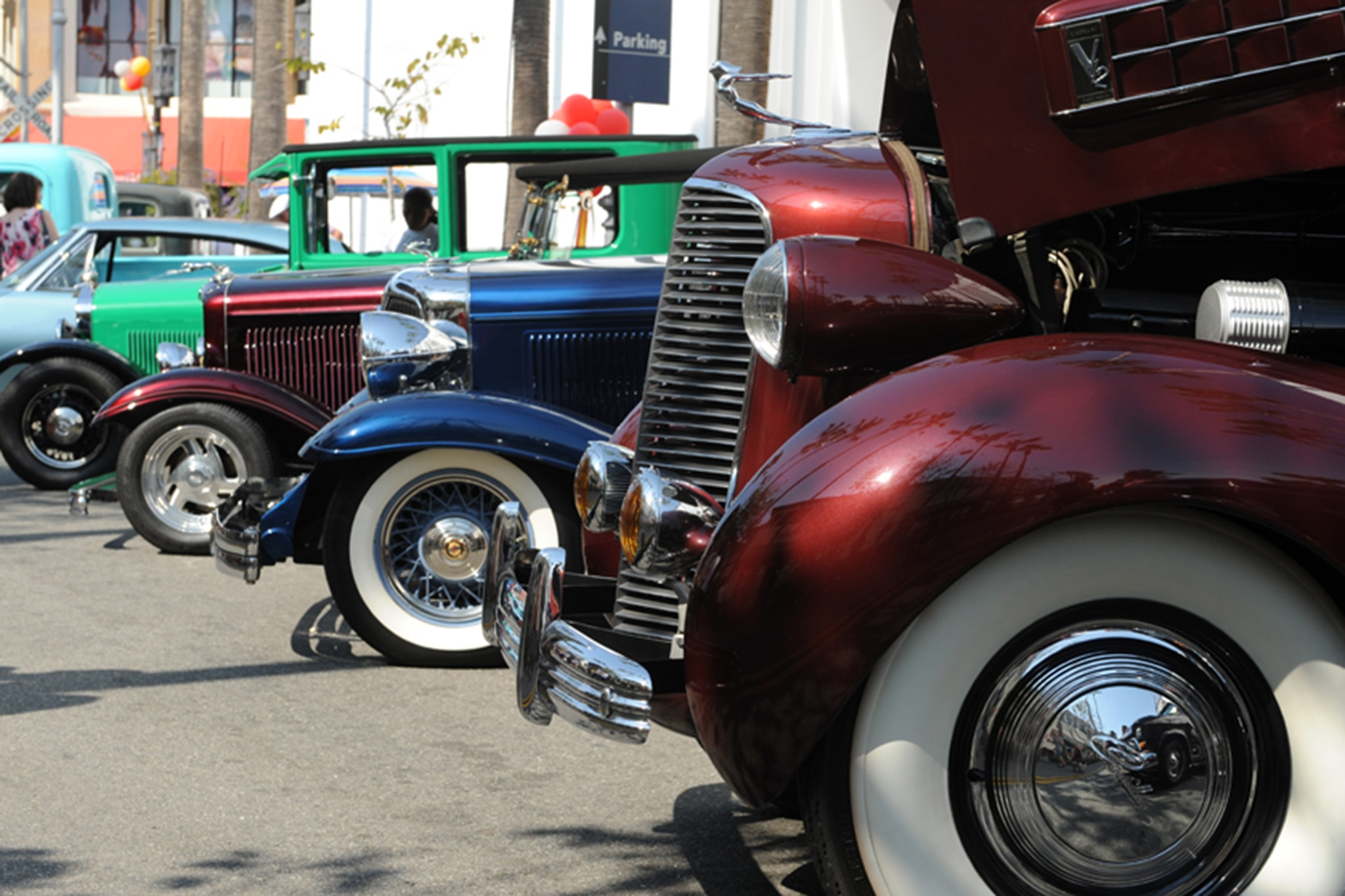 Gilmore Heritage Car Show