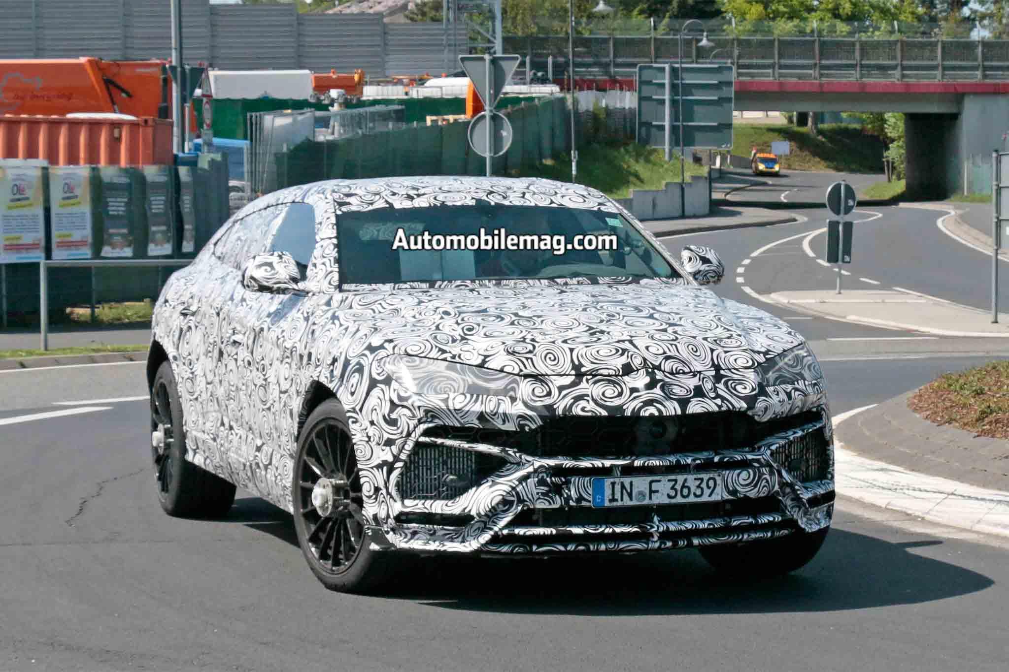 Lamborghini Urus Prototype Testing On Track 10