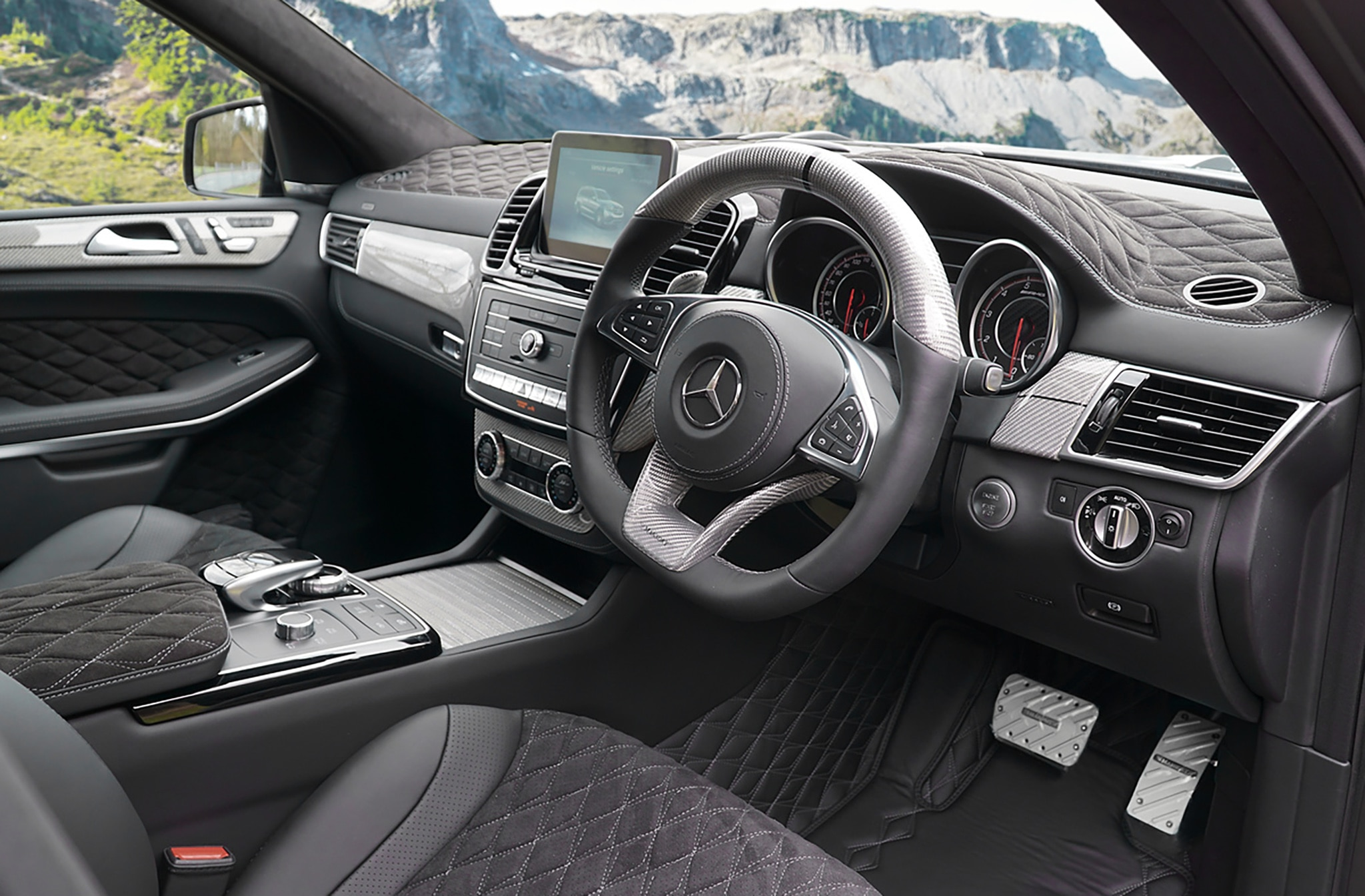 mansory debuts its version of the mercedes amg gls 63 automobile magazine. Black Bedroom Furniture Sets. Home Design Ideas