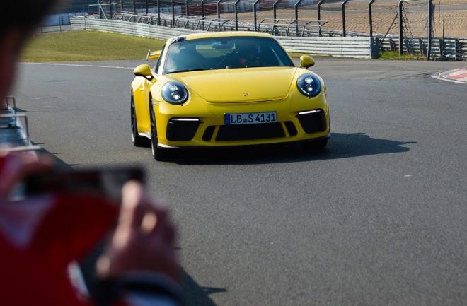 Porsche 911 GT3 Nürburgring Nordschleife