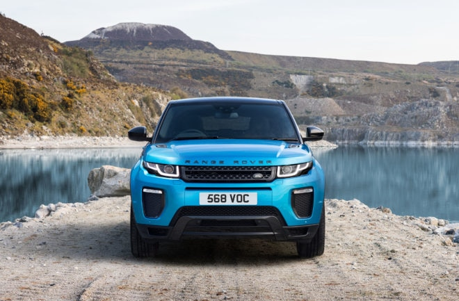 Range Rover Evoque Landmark Special Edition Front