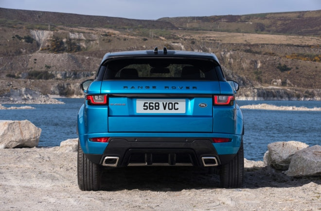 Range Rover Evoque Landmark Special Edition Rear