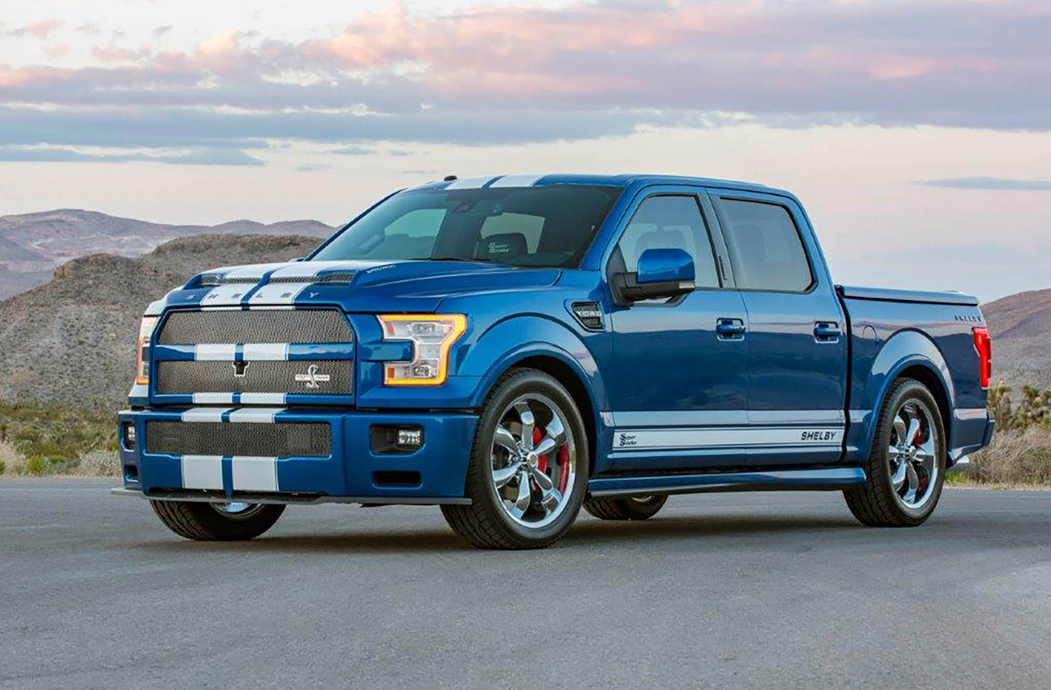 Shelby F 150 Super Snake Returns For 2017 Automobile