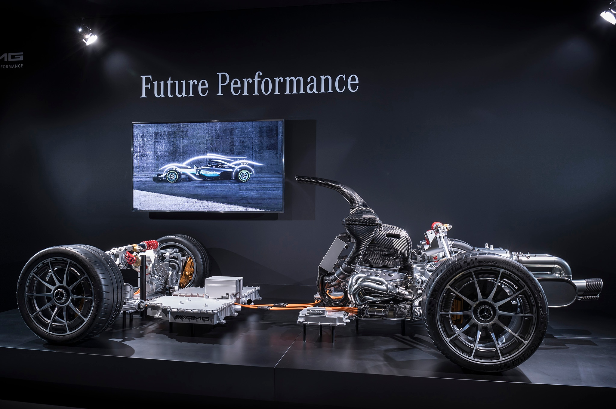 mercedes amg project one hypercar s powertrain revealed. Black Bedroom Furniture Sets. Home Design Ideas