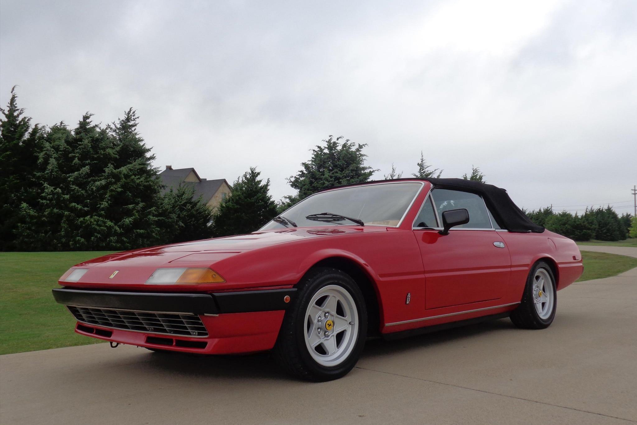 1980 Ferrari 400i Convertible Just Listed Front Three Quarters 1