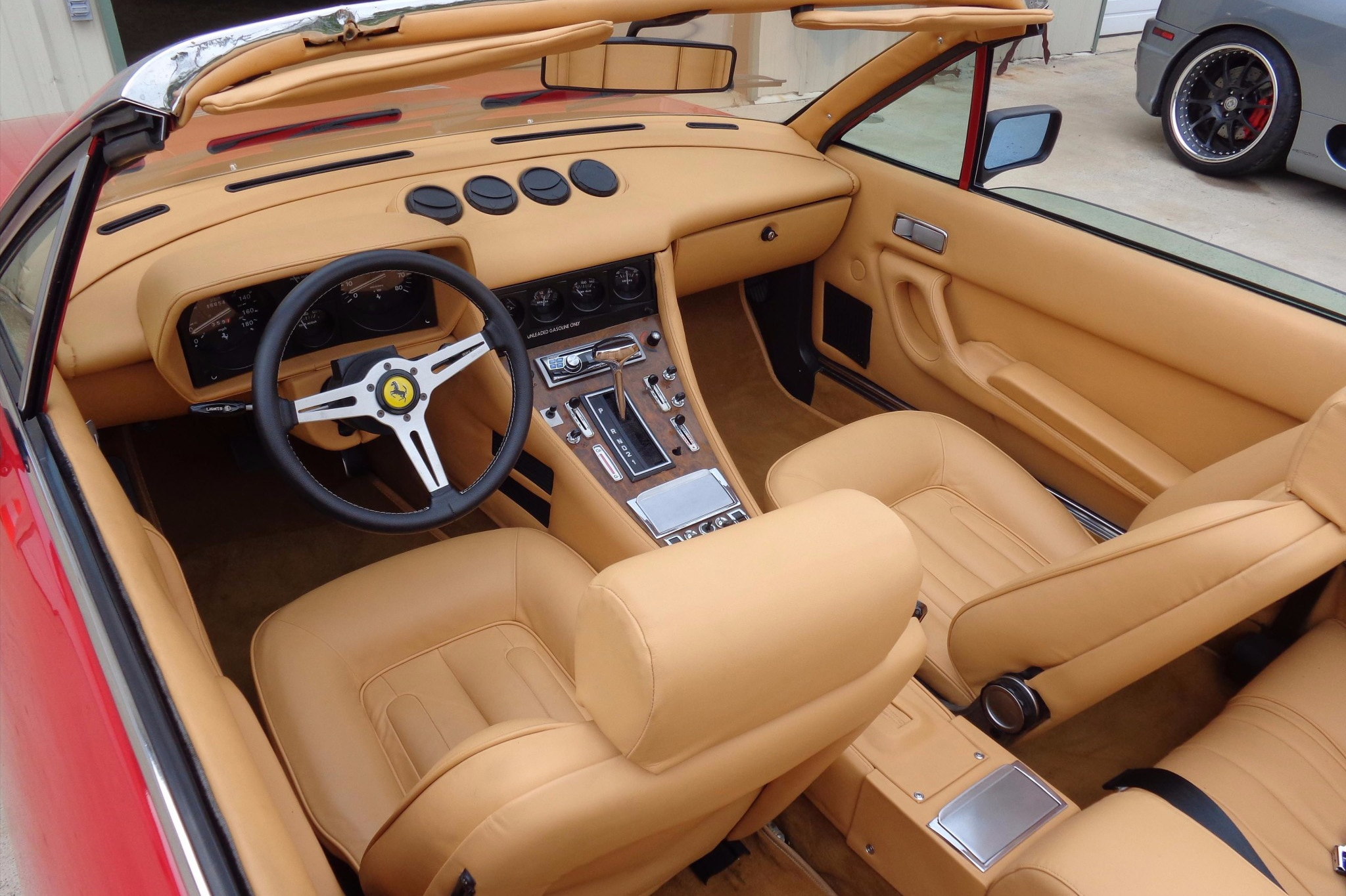 1980-Ferrari-400i-Convertible-Just-Listed-Interior Interesting 1988 Ferrari Mondial Cabriolet Review Cars Trend