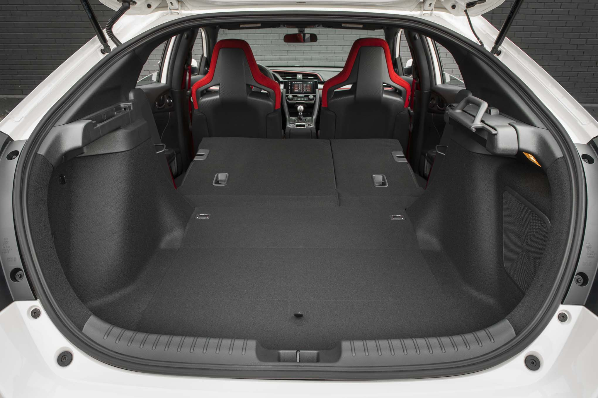 2017 honda civic type r first drive automobile magazine for Honda civic trunk