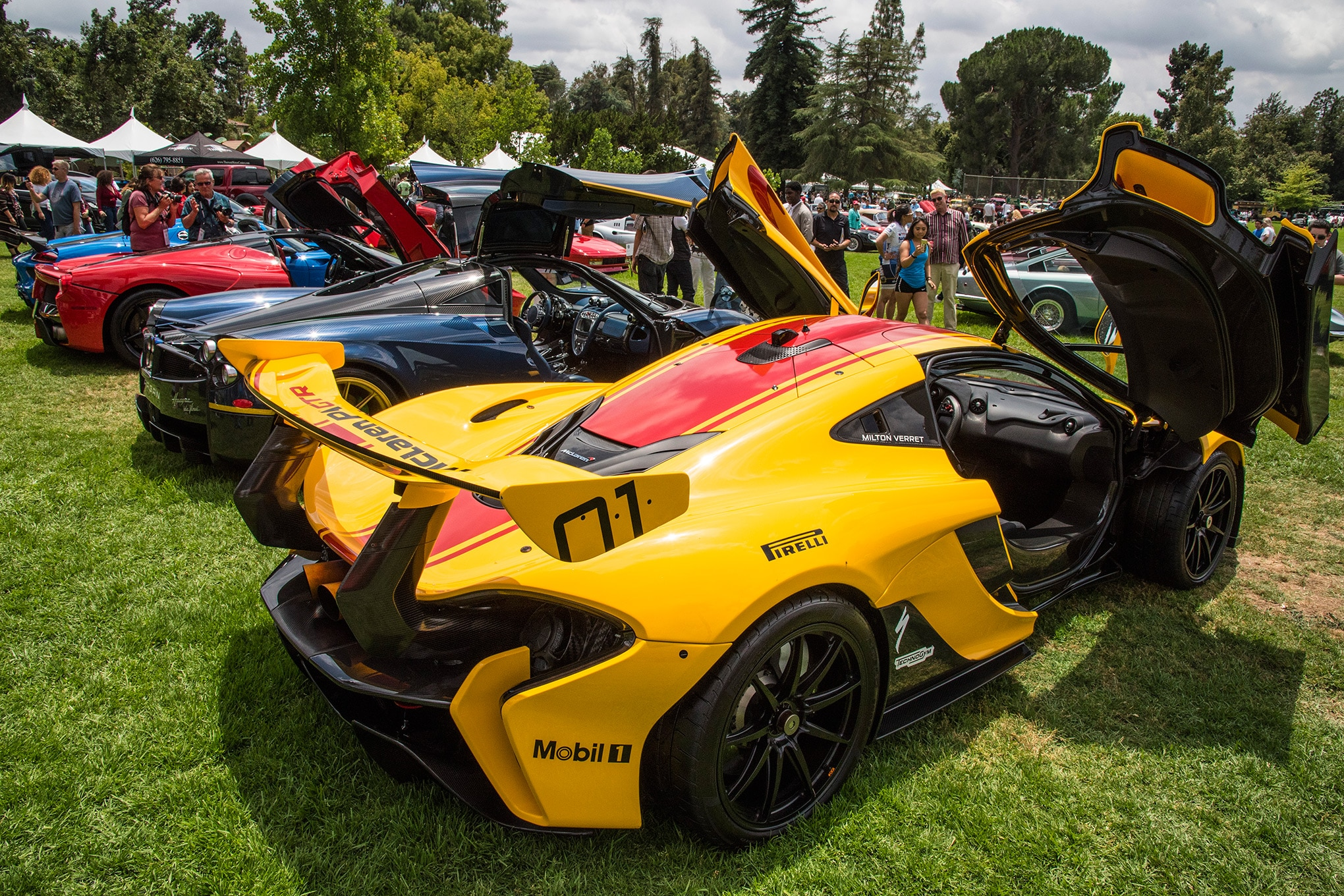San Marino Classic Car Show