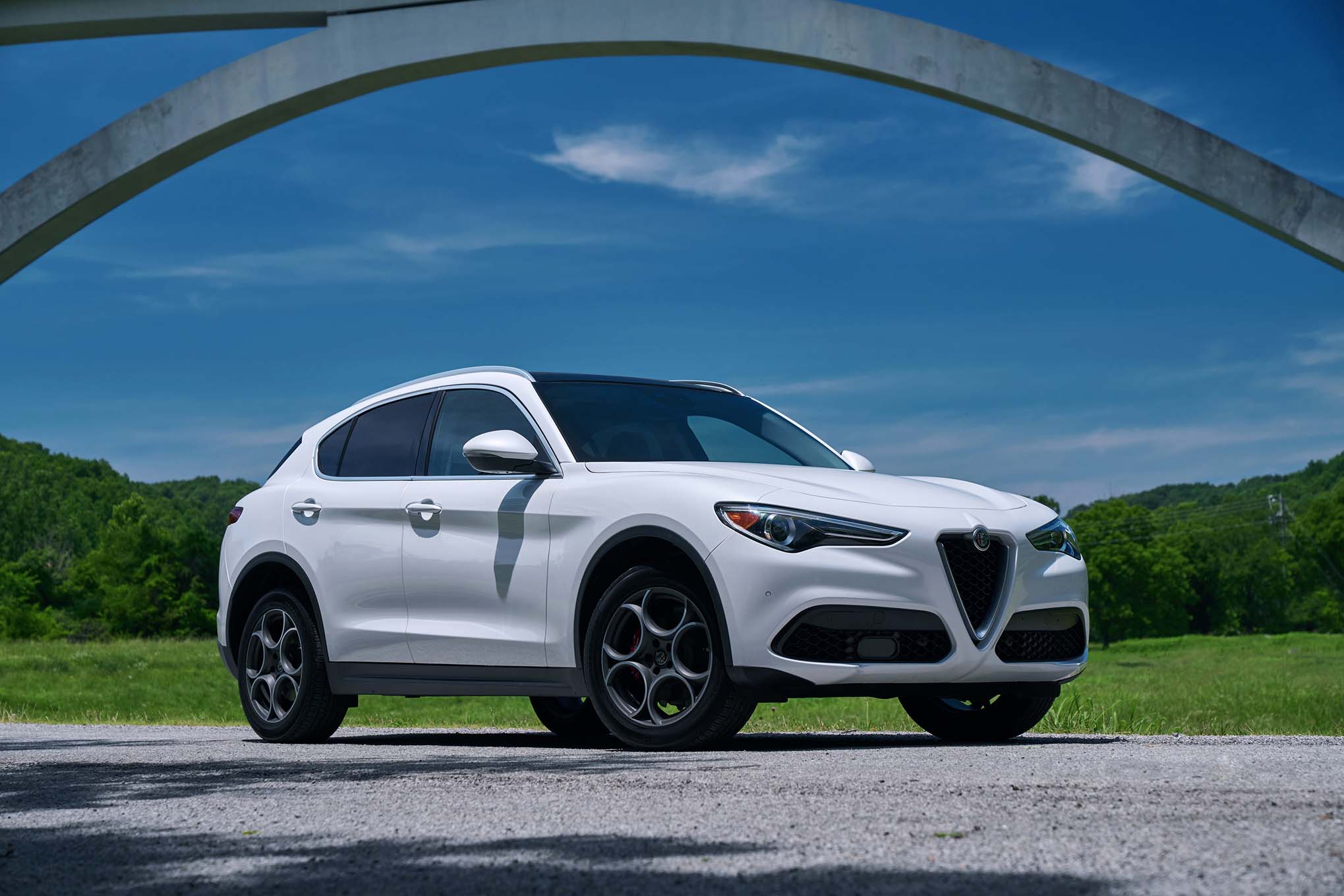 2018 alfa romeo stelvio first drive automobile magazine. Black Bedroom Furniture Sets. Home Design Ideas