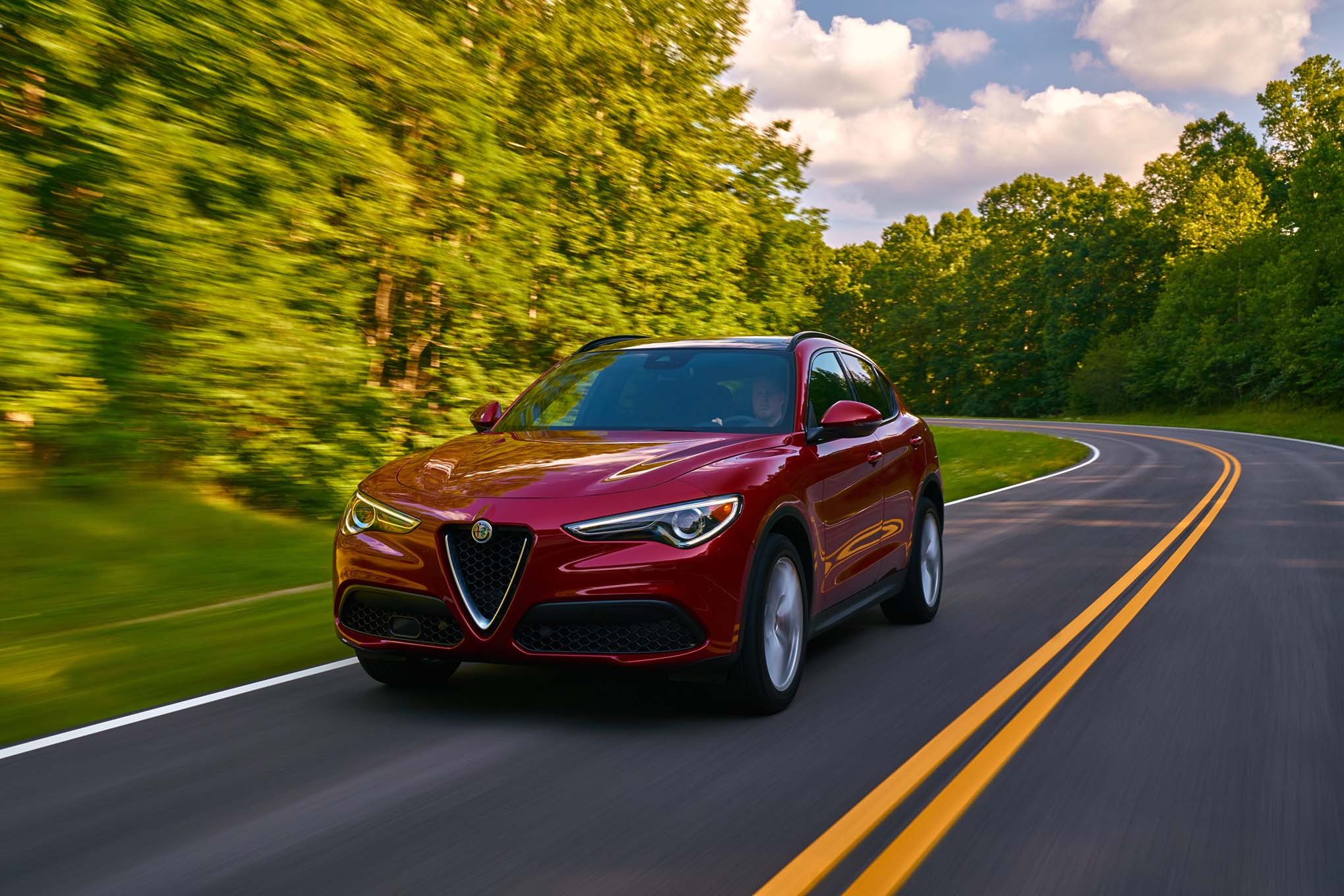 Creative 2018 Alfa Romeo Stelvio First Drive  Automobile Magazine
