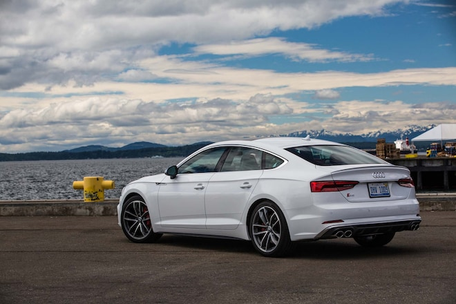 2018 audi a5 and s5 sportback first drive review automobile magazine. Black Bedroom Furniture Sets. Home Design Ideas