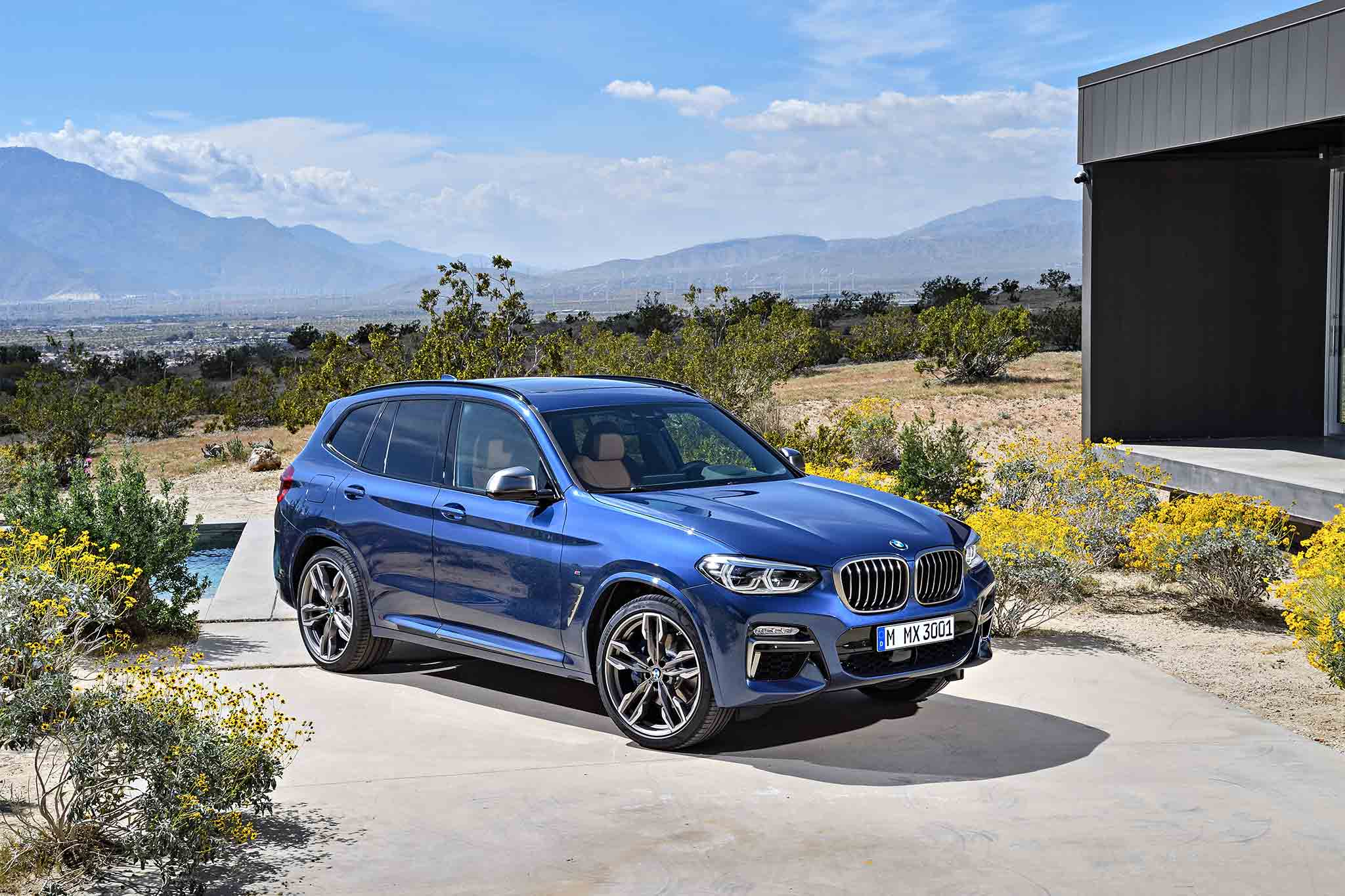 2018 bmw x3 revealed with performance oriented m40i trim. Black Bedroom Furniture Sets. Home Design Ideas