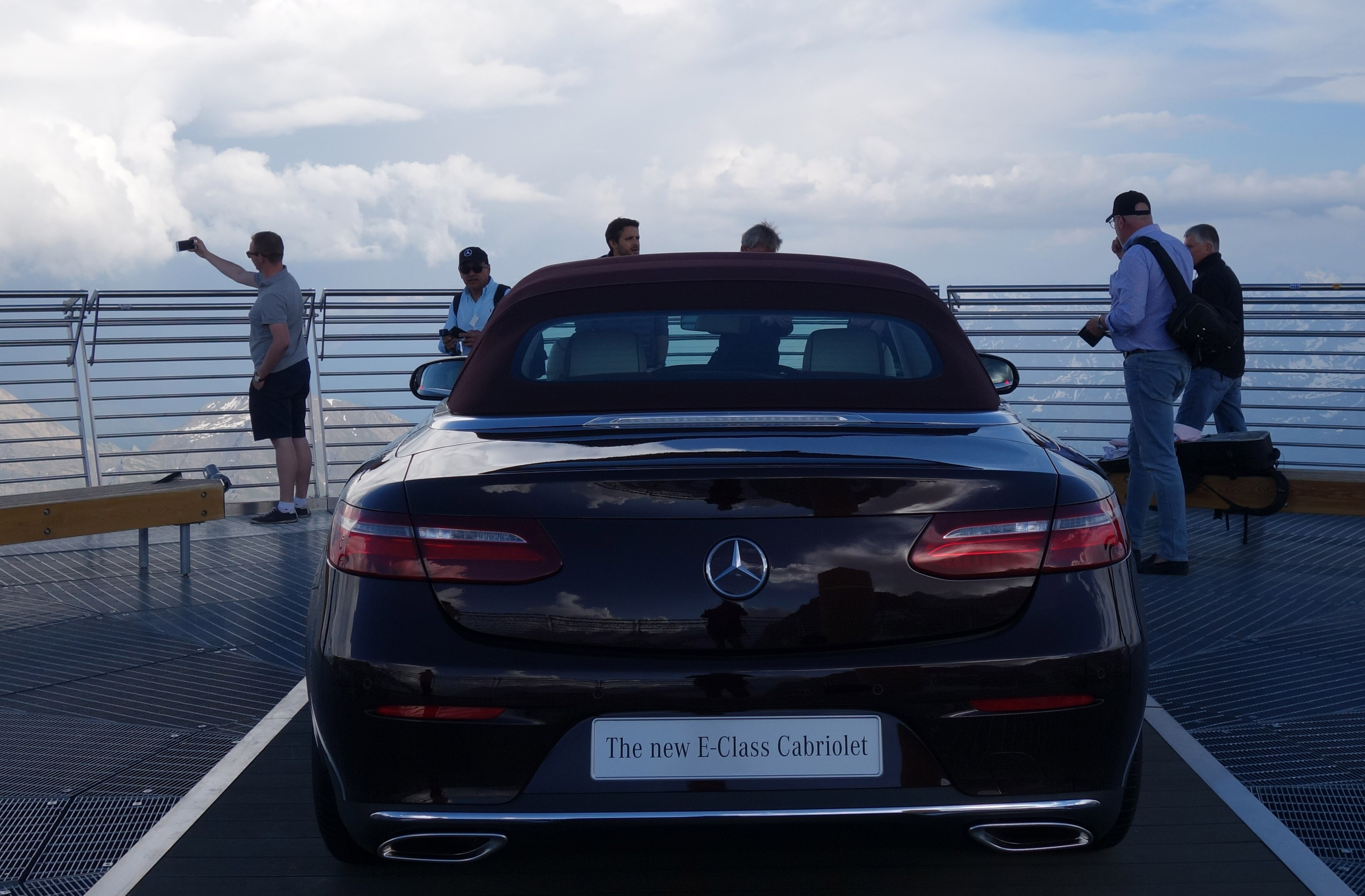 Drop Top of the World for the 2018 MercedesBenz EClass Cabriolet