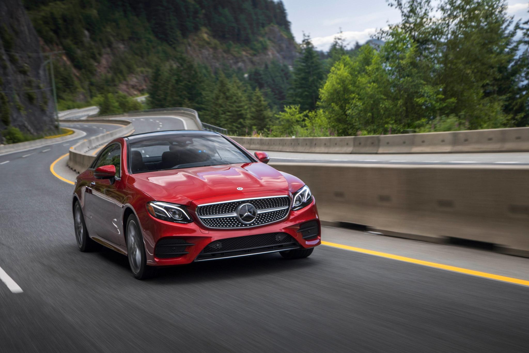2018 mercedes benz e400 coupe u s spec first drive review for Mercedes benz e400 coupe 2018 price