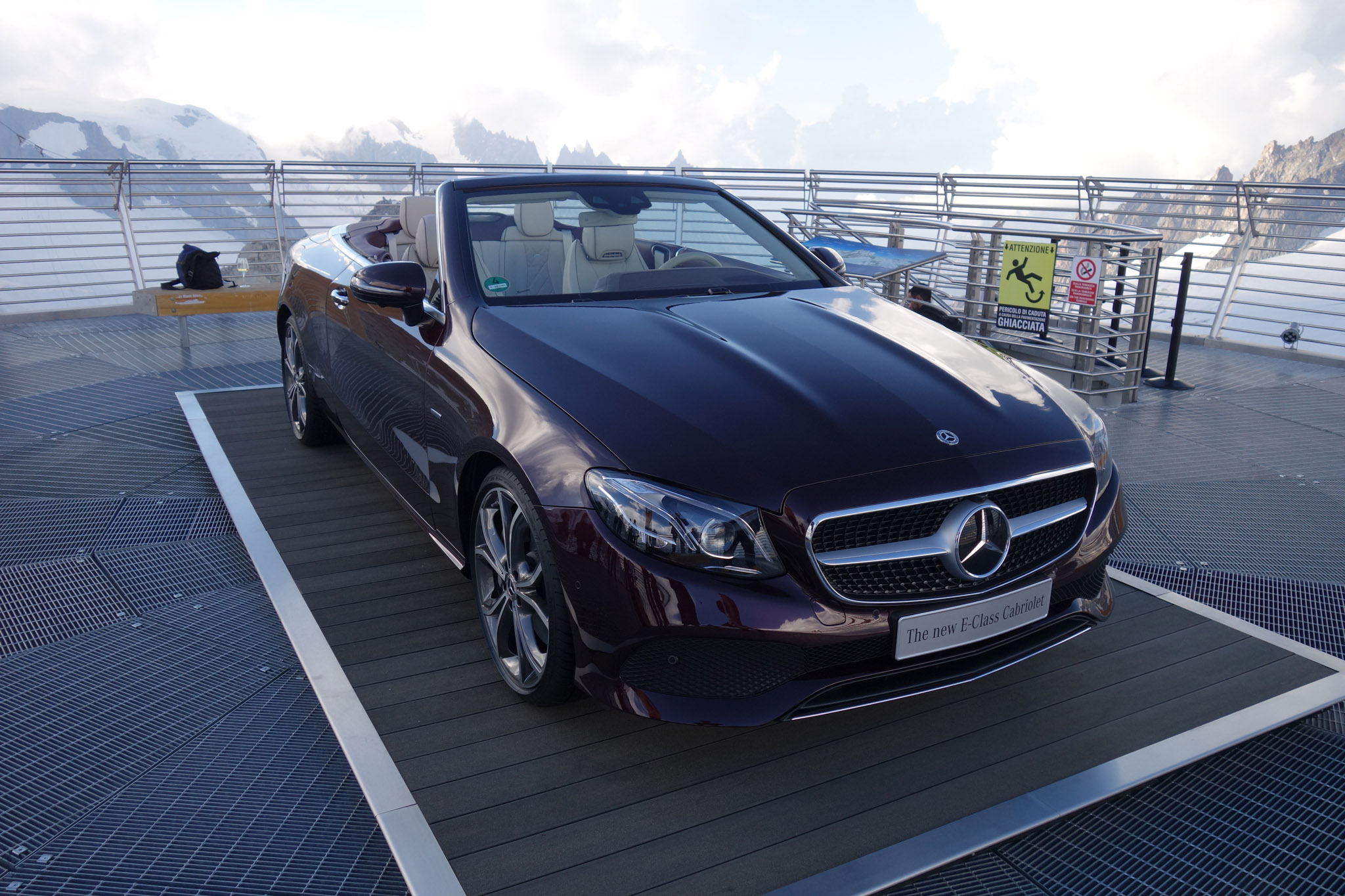 First Drive 2018 Mercedes Benz E400 4matic Cabriolet