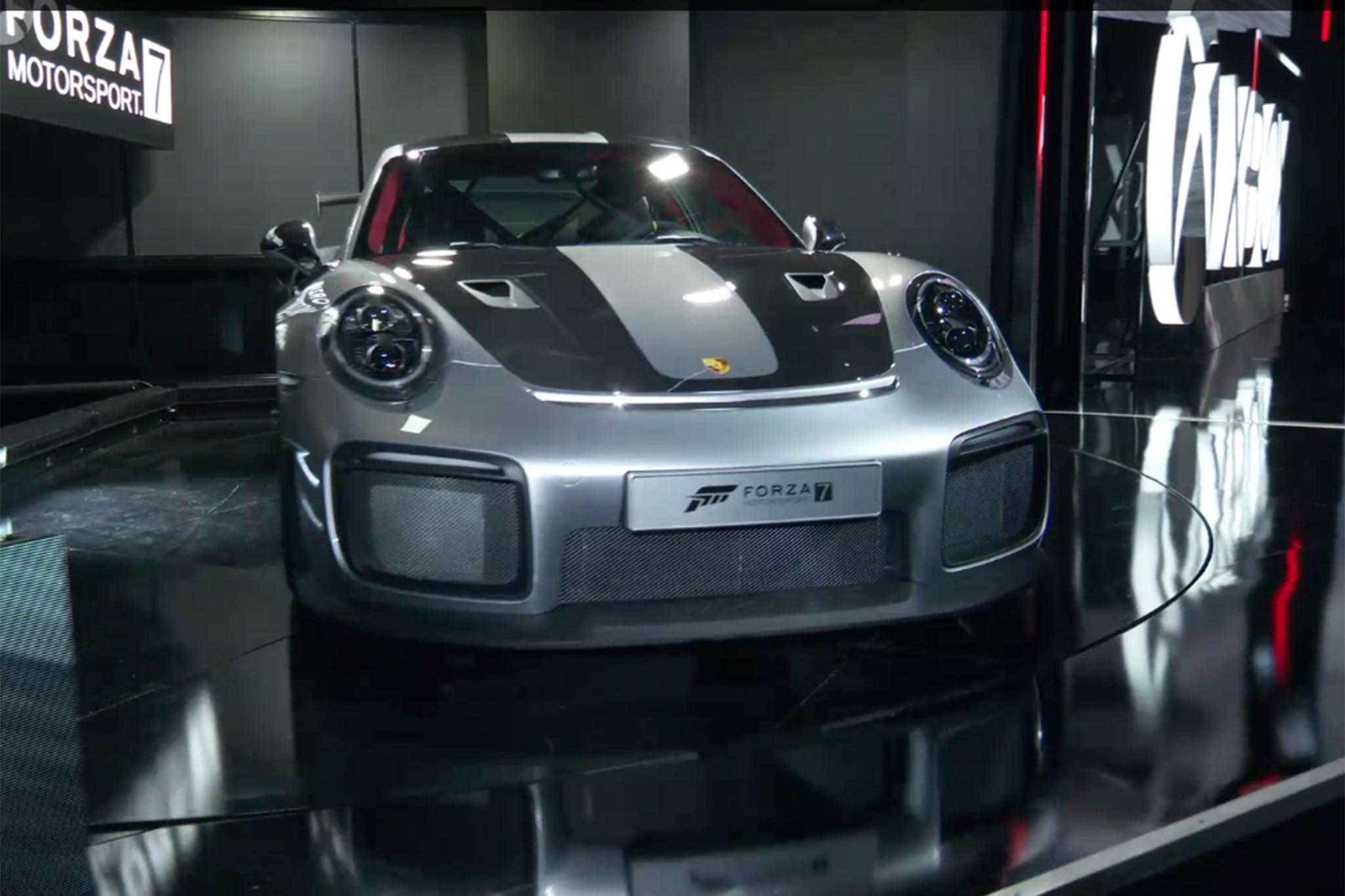 2018-Porsche-911-GT2-RS-E3-Front Remarkable Porsche 911 Gt2 Xbox 360 Cars Trend