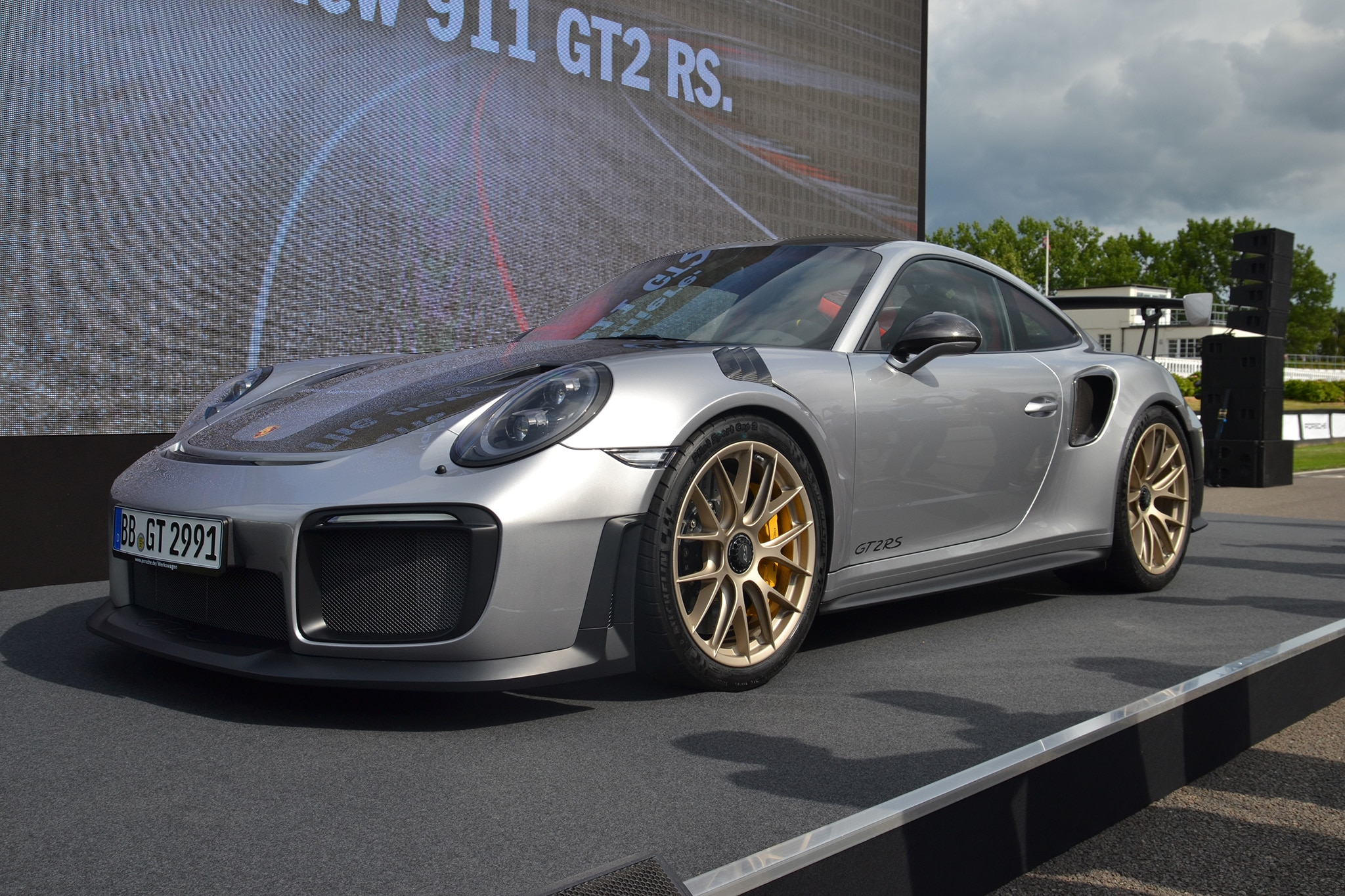 2018 Porsche 911 GT2 RS Revealed at Goodwood | Automobile Magazine