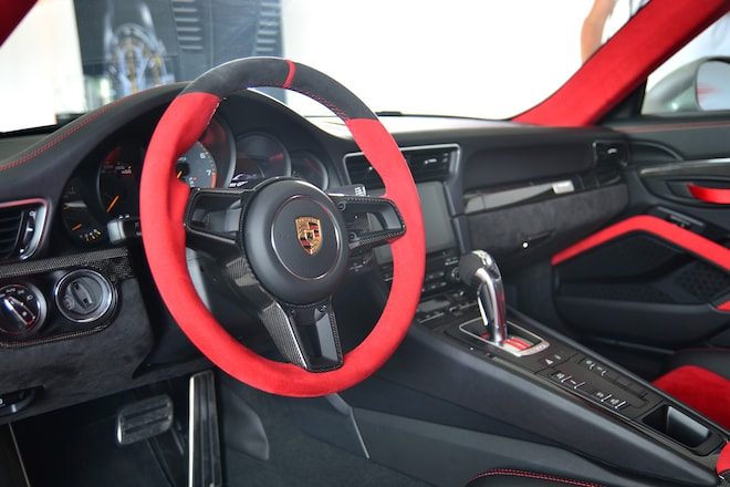2018 porsche 911 gt2 rs revealed at goodwood automobile magazine. Black Bedroom Furniture Sets. Home Design Ideas