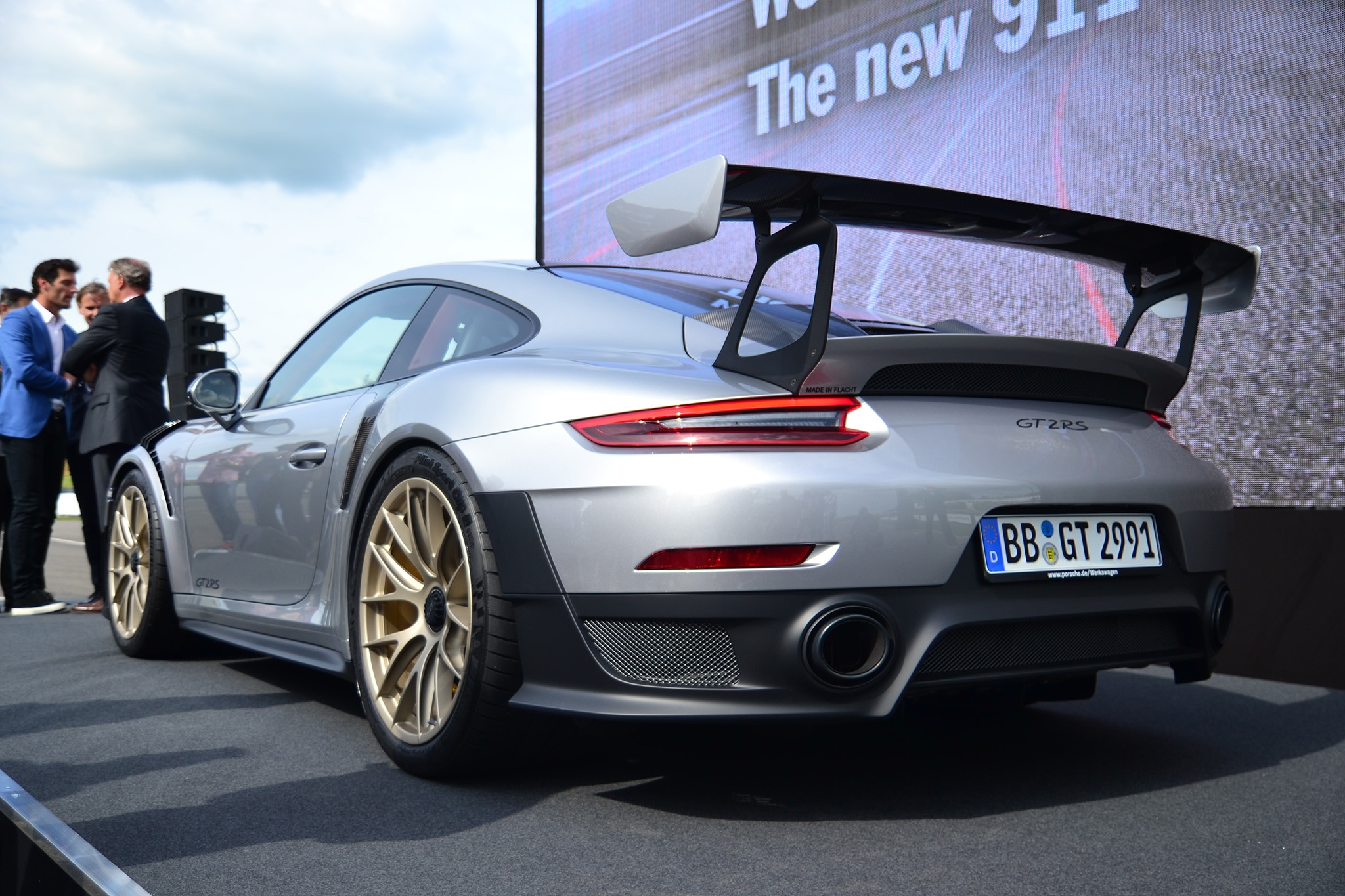 2018-Porsche-911-GT2-RS-Rear-Three-Quarters Breathtaking How Many Porsche 911 Gt2 Were Made Cars Trend
