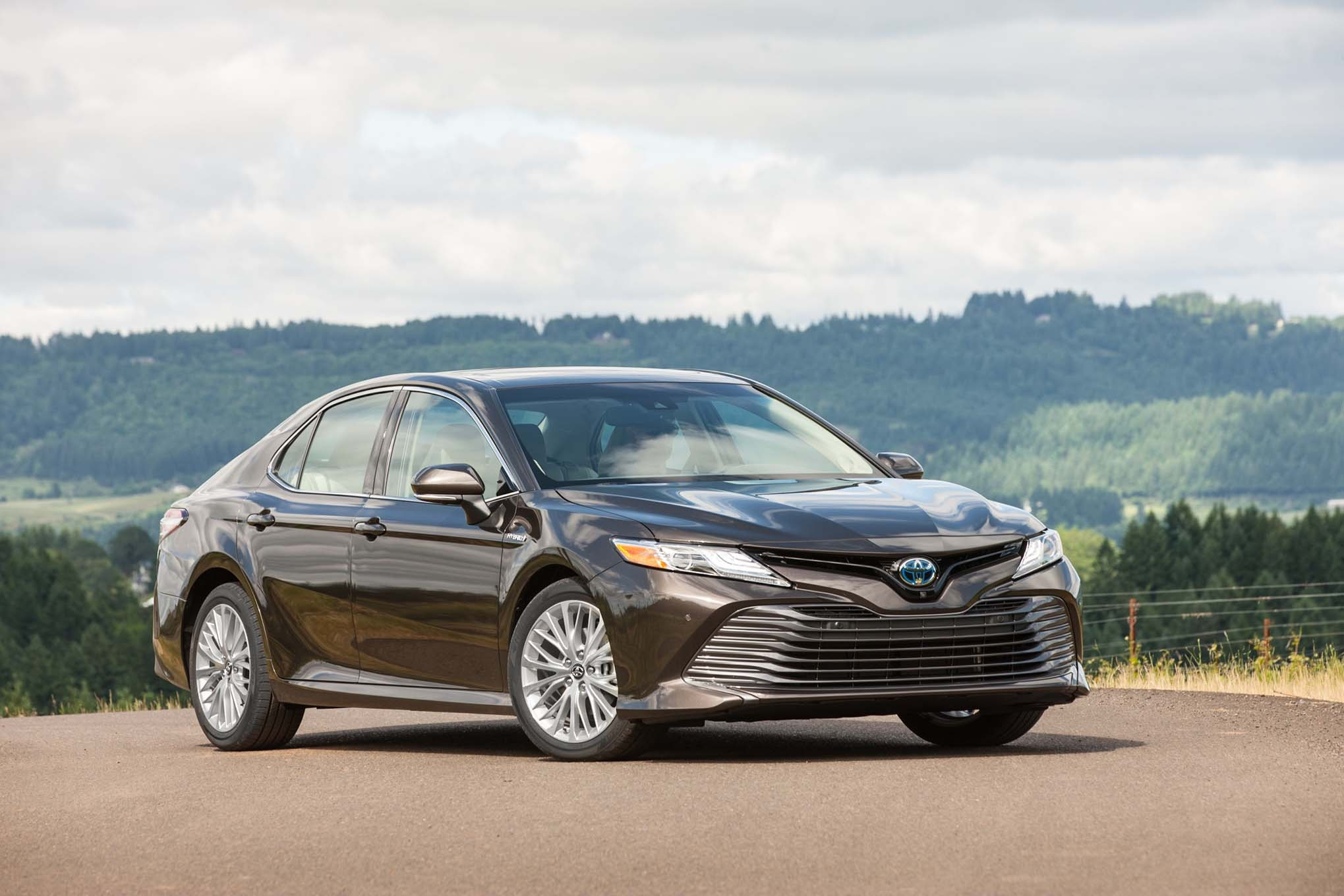 2018 toyota camry first drive review automobile magazine. Black Bedroom Furniture Sets. Home Design Ideas