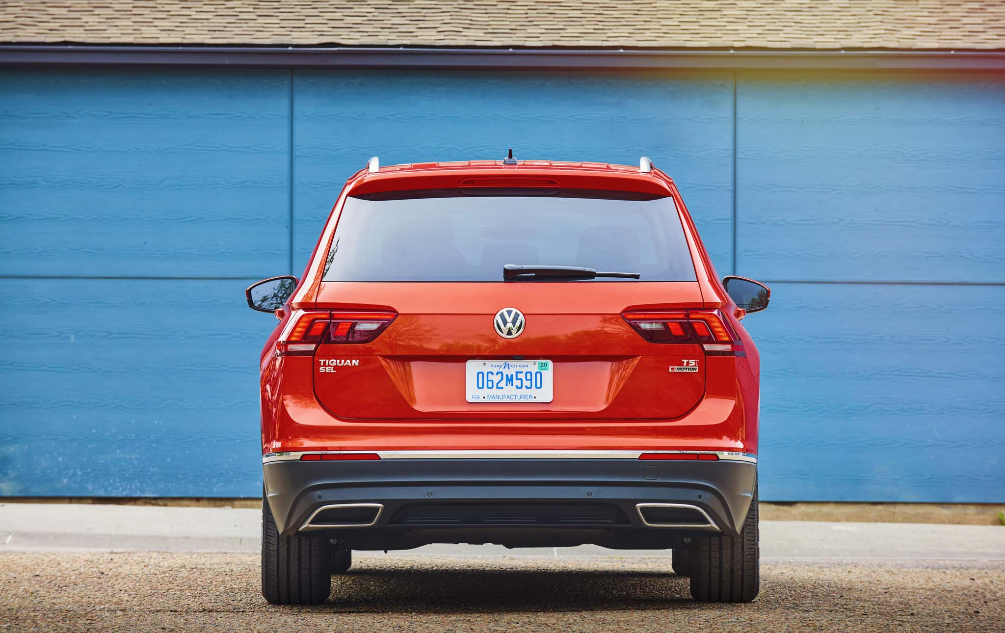 First Drive 2018 Volkswagen Tiguan Automobile Magazine