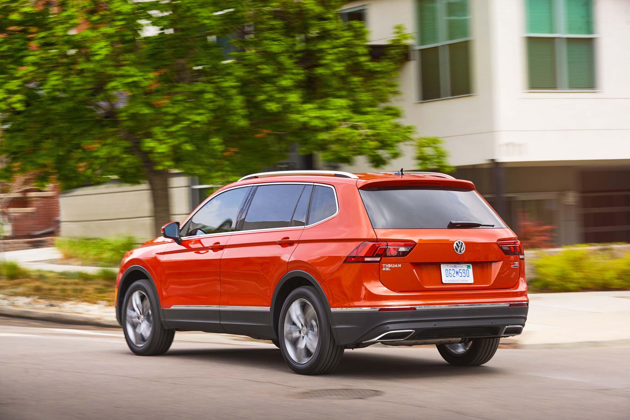 First Drive 2018 Volkswagen Tiguan Automobile Magazine