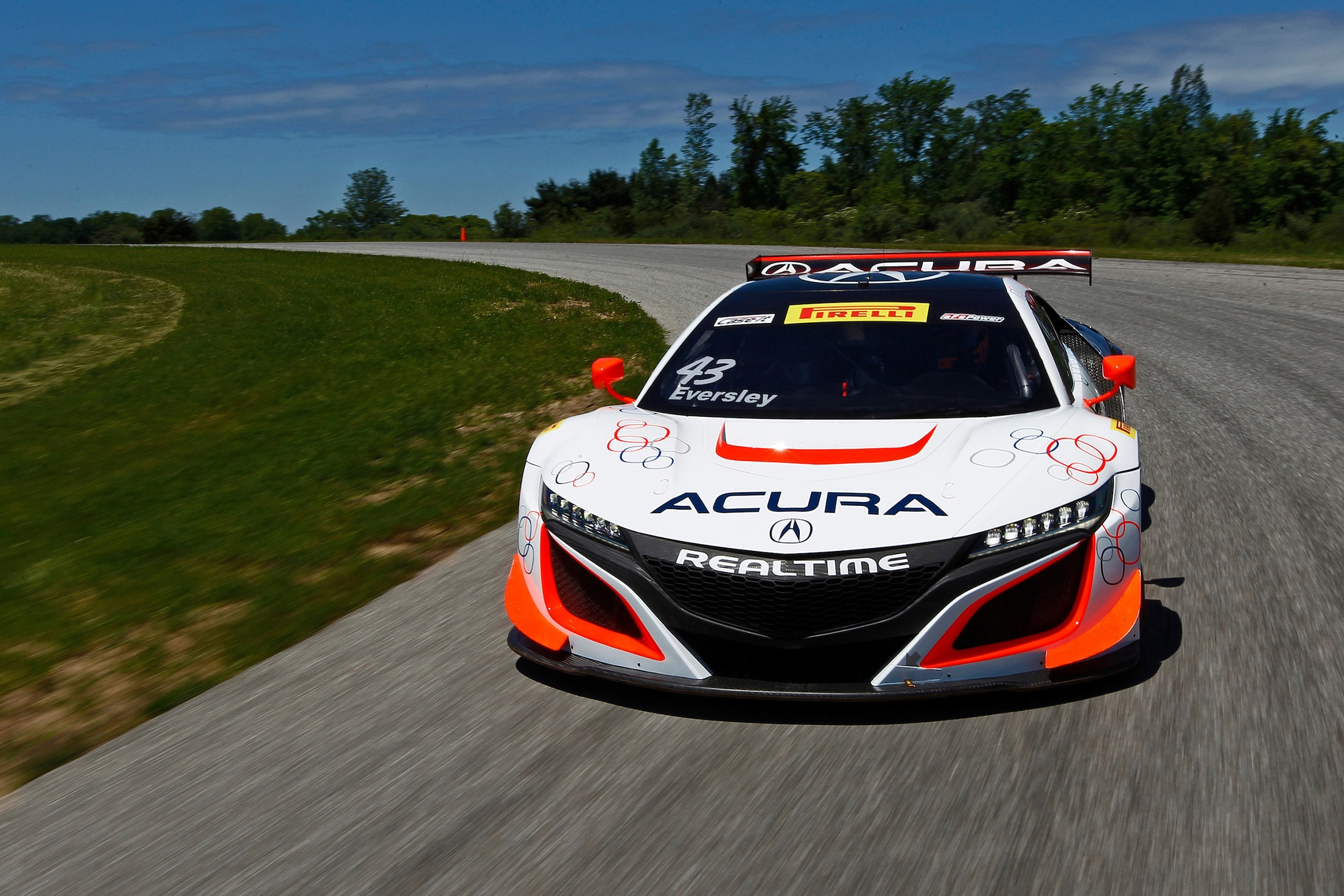 Acura NSX GT3 Race Car 07