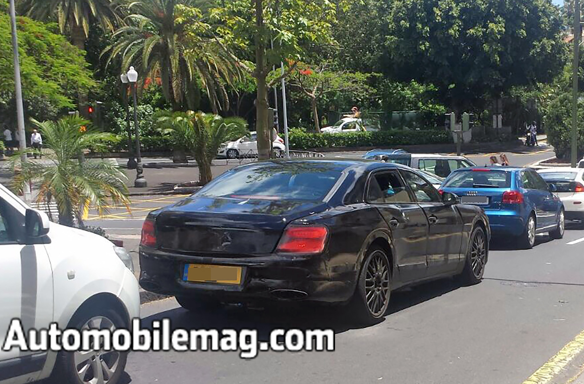 Autos Maserati Ghibli Facelift Spied Cheers Massive Online Party