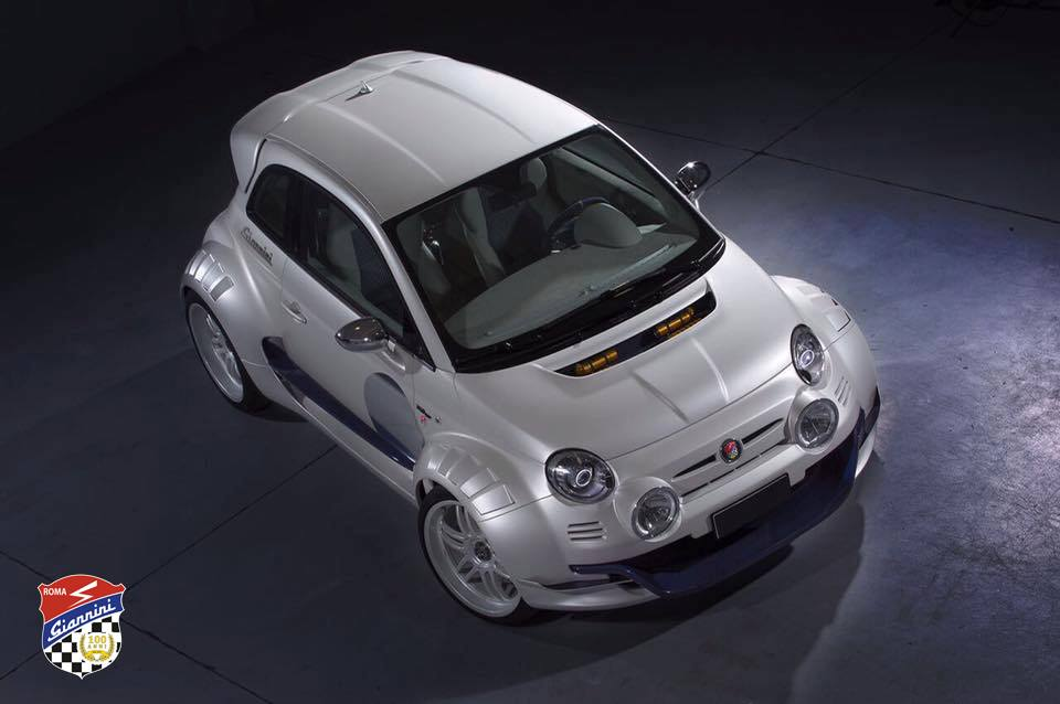 The Giannini 350 GP is Rear-Engine Fiat 500 | Automobile Magazine