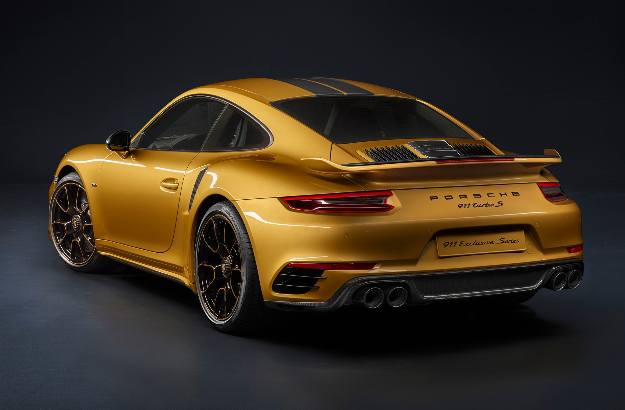 Porsche 911 Turbo S Exclusive Series Unveiled