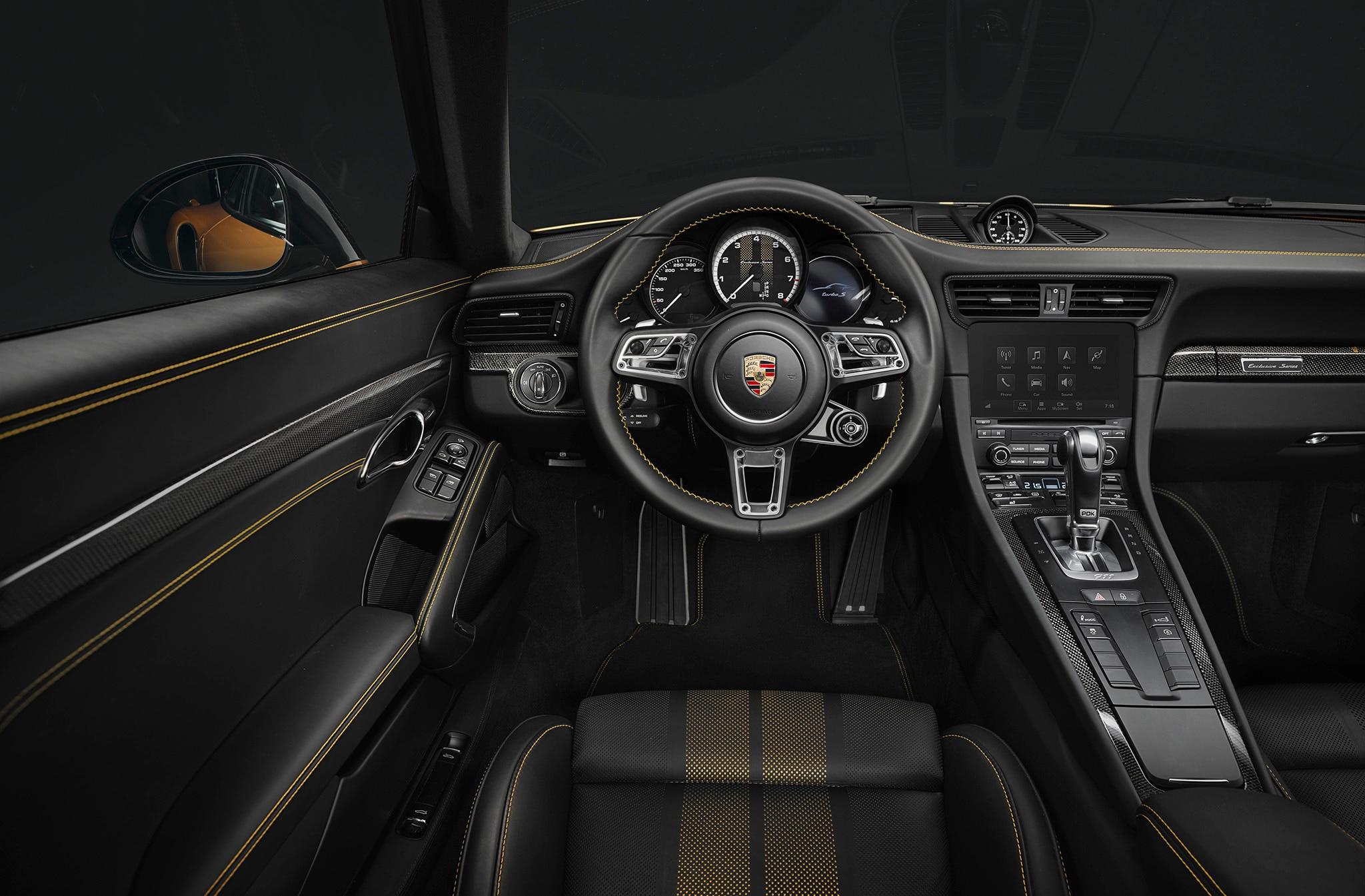 2018 porsche 911 turbo s exclusive series is one upmanship for Porsche 911 interior