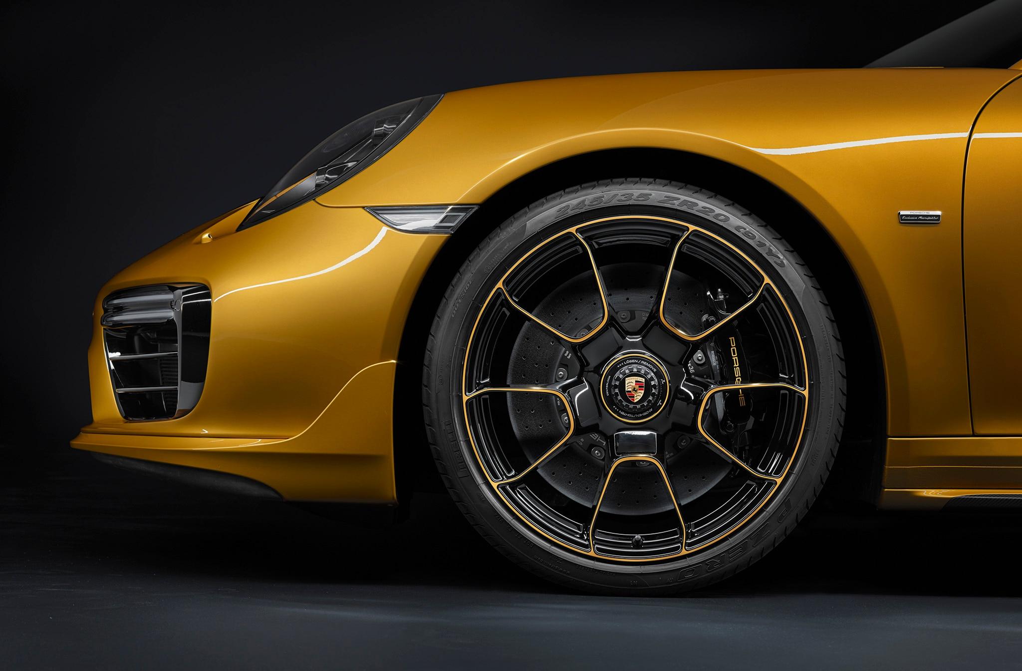 2018 porsche 911 turbo s exclusive series is one upmanship for Interieur 991
